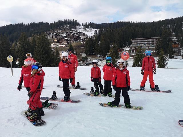 Entrainement Snowboard